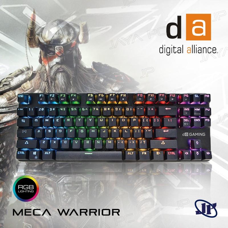 87c80eb63fe NEW Release Original Digital Alliance Keyboard Gaming K1 Meca TKL 2.7 RGB |  Shopee Indonesia