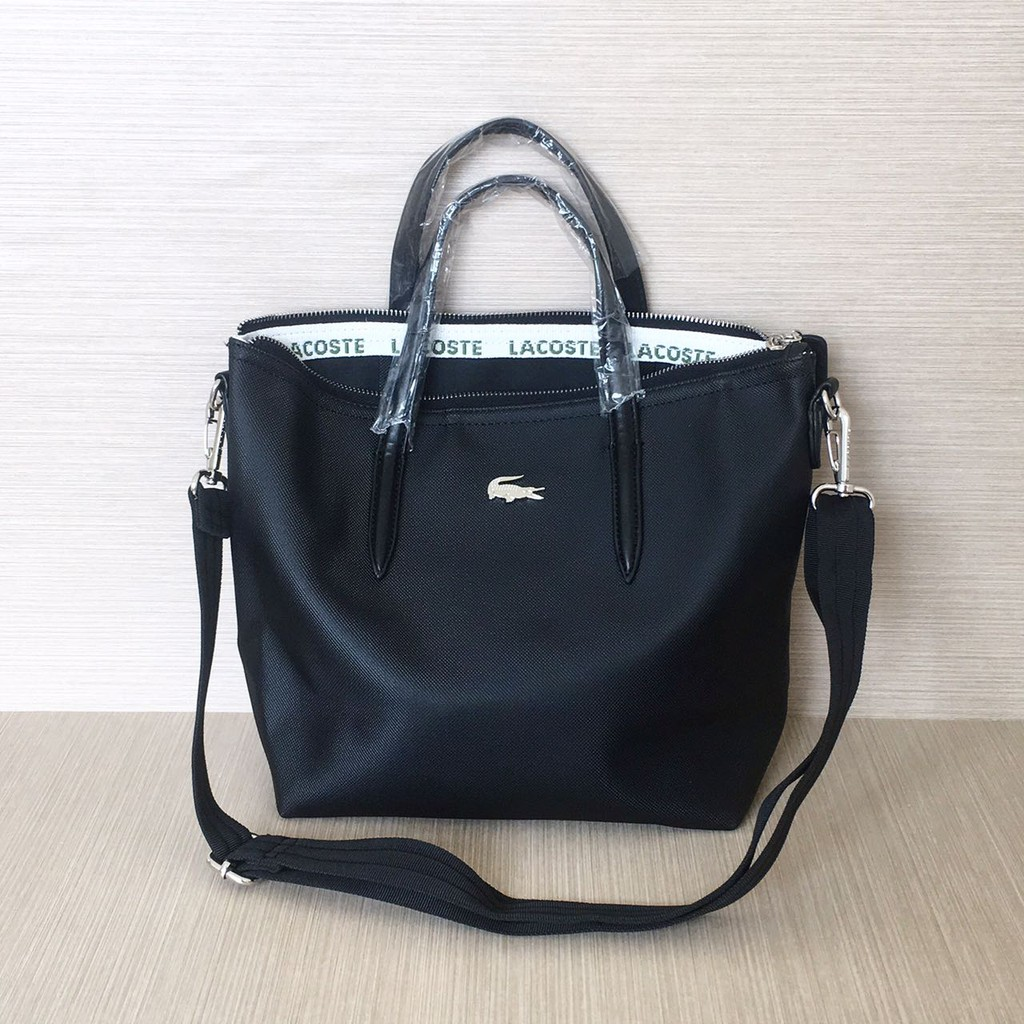 Promo Tas Wanita Lacoste Zip Tote Bag Basic Mini Best Seller Harga Murah  Diskon Sale Obral New  cf848c7170