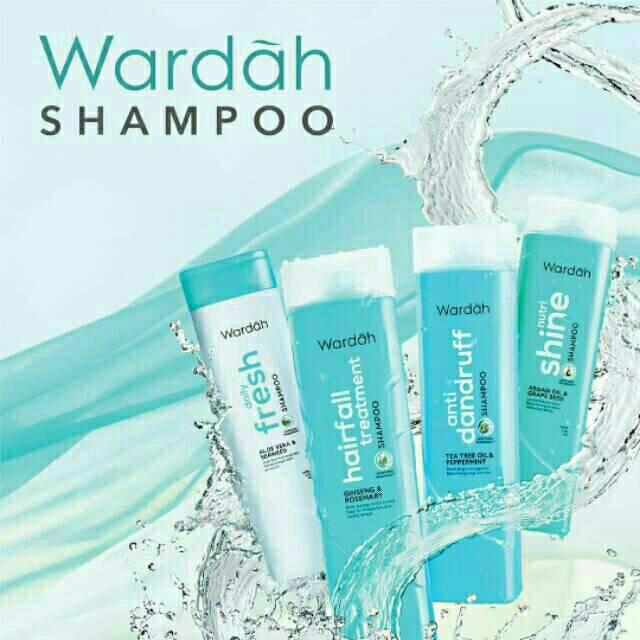 New!!! Wardah Shampoo 170ml-4