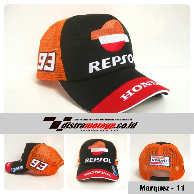 Topi Motogp Marc Marquez 93 Honda  56c5fb84b2