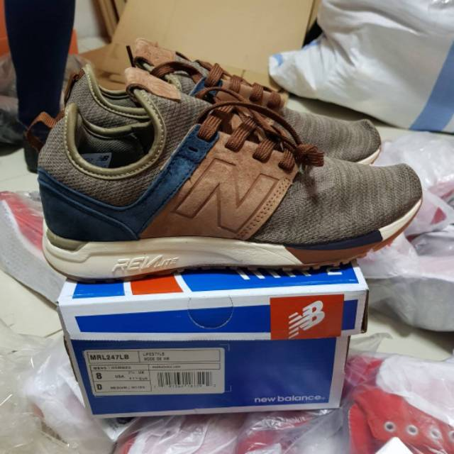 New Balance 247 Luxe Knit Pack Brown