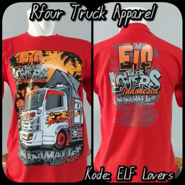 Kaos Indonesia Kaos Truck ELF Canter