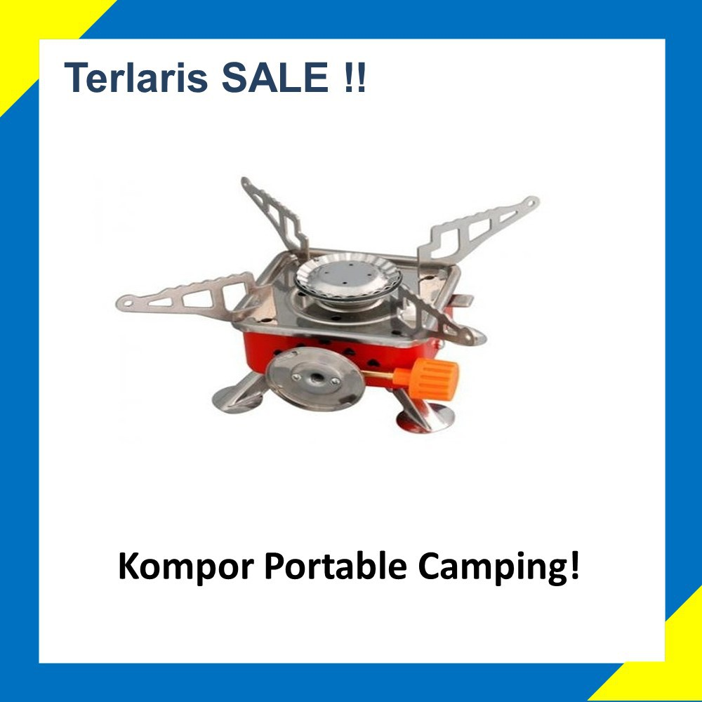 Kovar K 202 Kompor Camping Outdoor Survival Daftar Harga Terbaru Portable Gas Mini Outdor Stove Outdoors