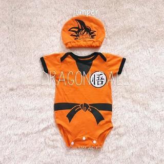bf659c60f Jumper bayi lucu jumper kostum karakter bayi dragon ball Jumper Bayi ...