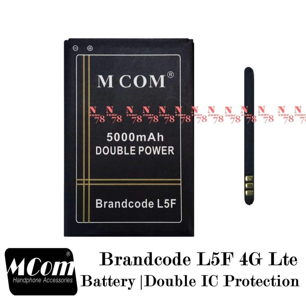 Baterai Brandcode L5F 4G Lte Double IC Protection