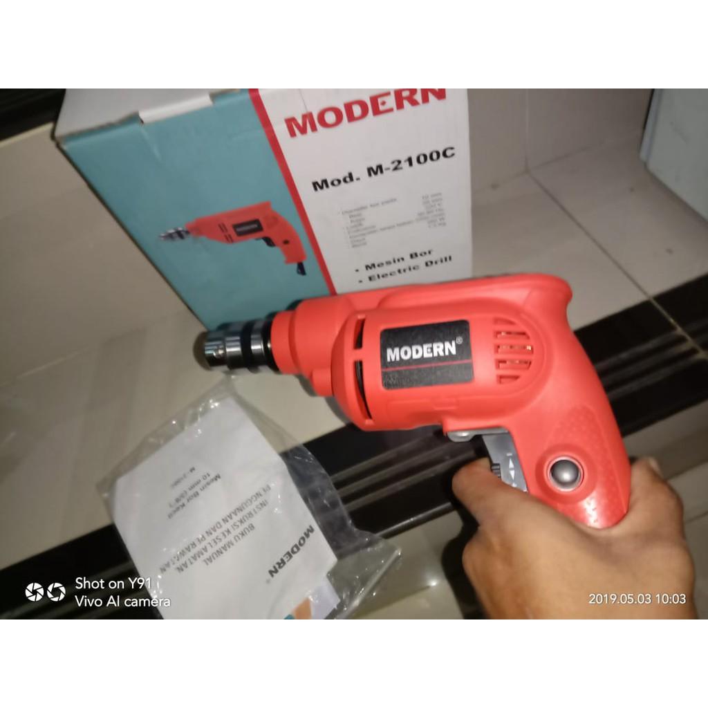 modern mesin bor drill m 2100c