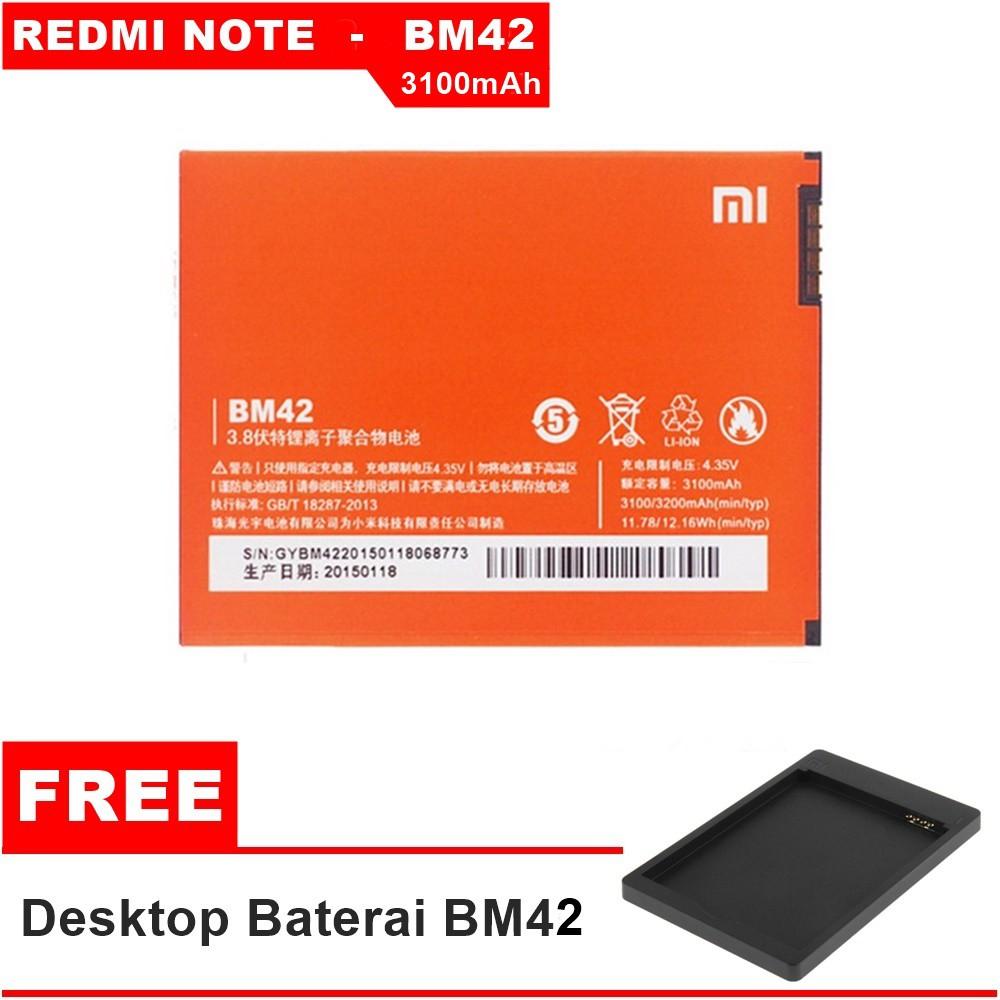 Xiaomi Original Baterai BM-45 3020mAh untuk Xiaomi Redmi Note 2 Baterai | Shopee Indonesia