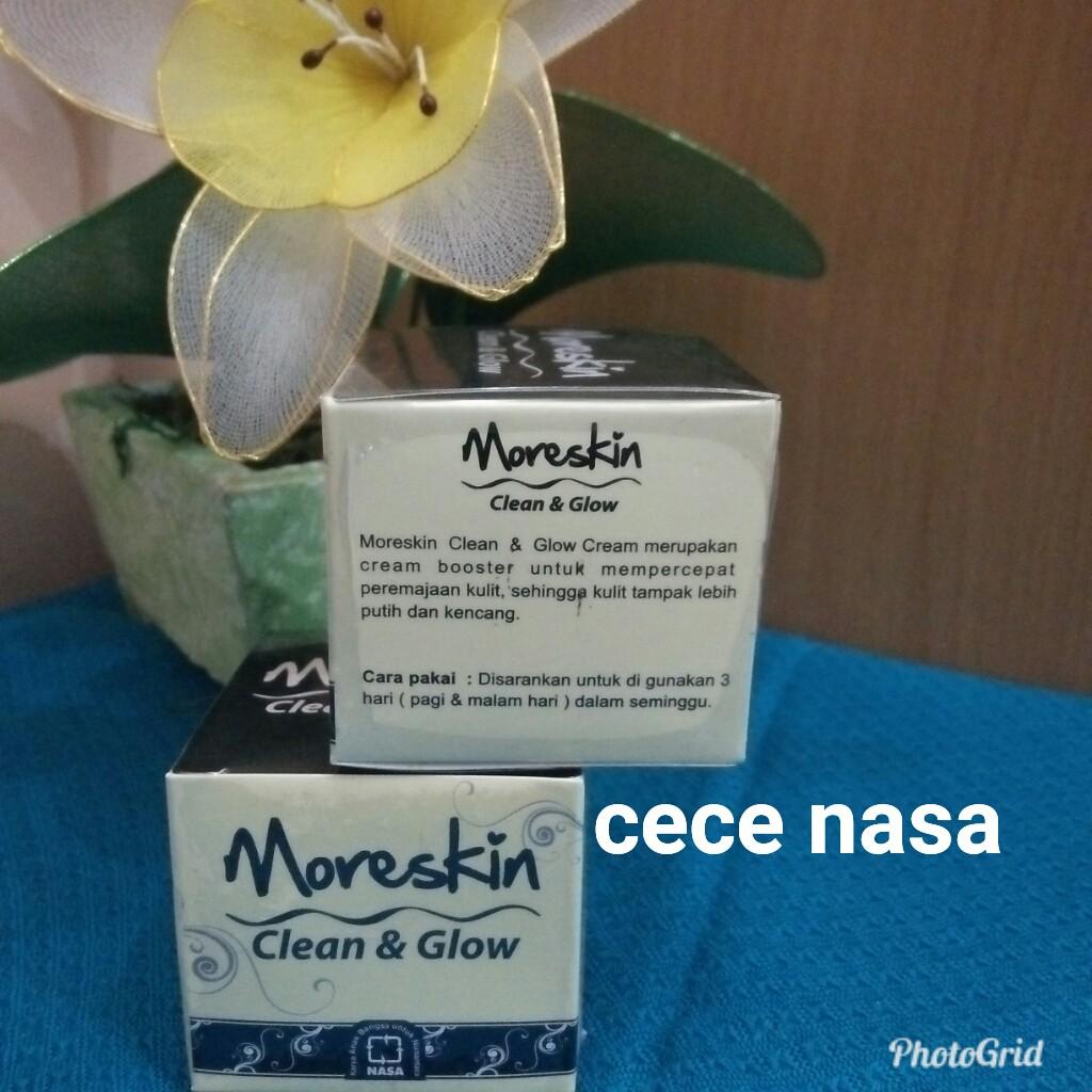 Moreskin Clean N Glow Shopee Indonesia Cream