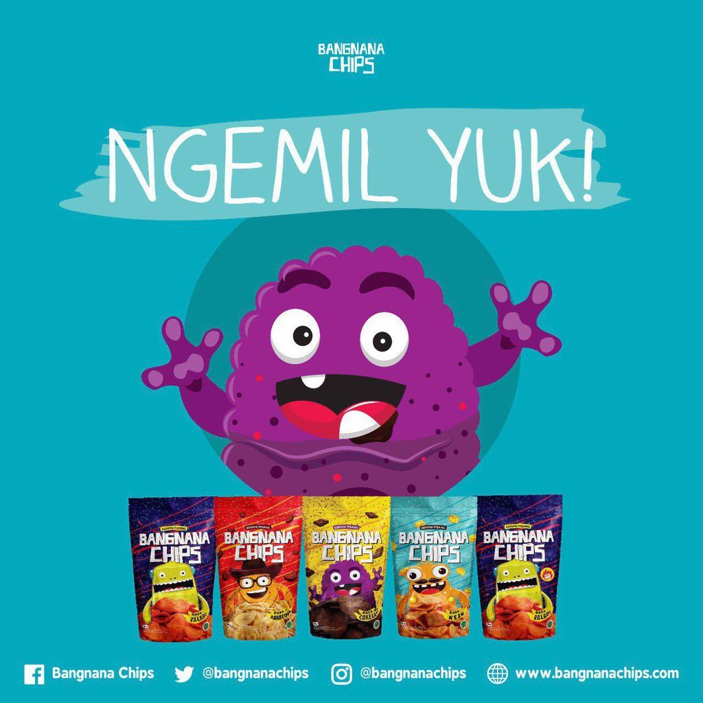 Paket Lengkap Shopee Indonesia Bangnana Chips
