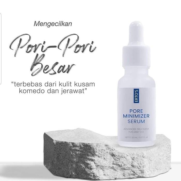 Ertos Pore Minimizer Serum Shopee Indonesia