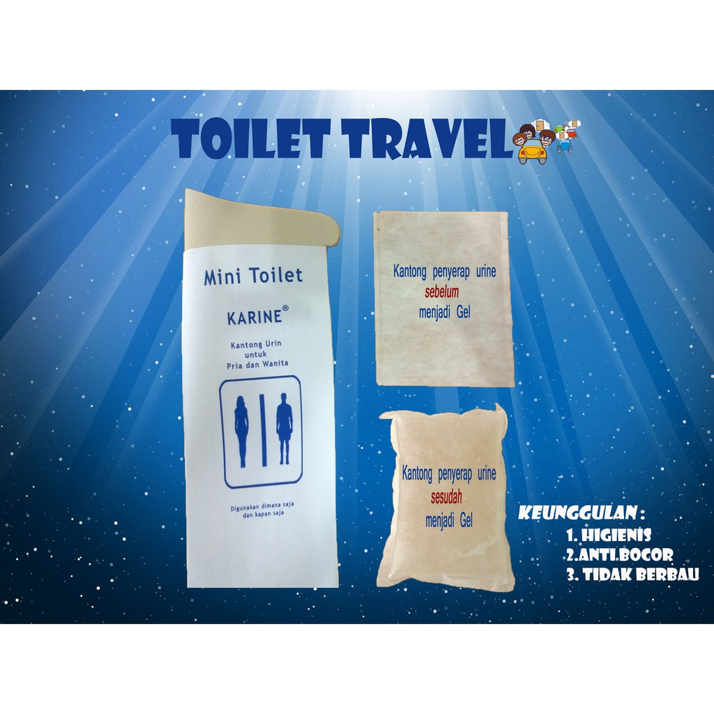 Kantong Urin Pipis Kencing Sankimo Urinoirbag Peepis Merah Untuk Wanita Urine