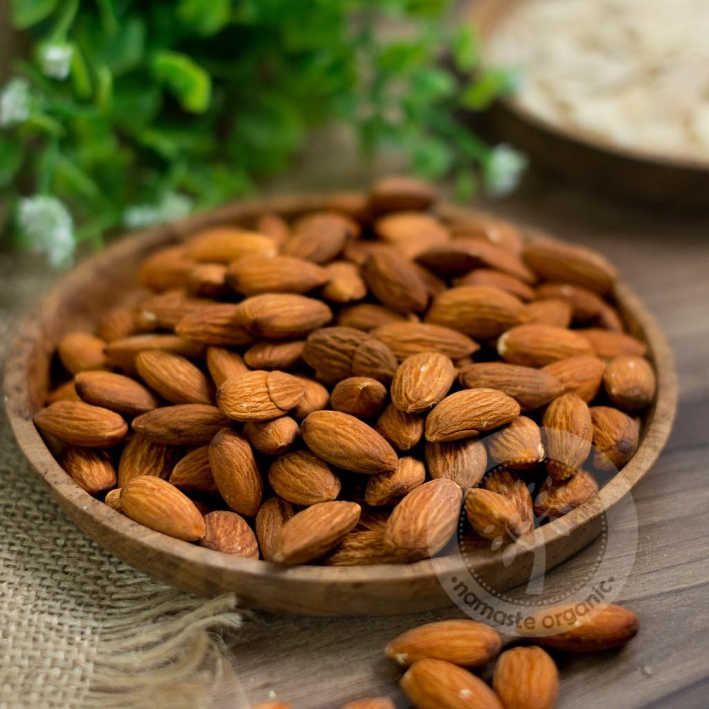 Natural Almond Sliced 250gr Shopee Indonesia Slice Kacang Mentah Irisan
