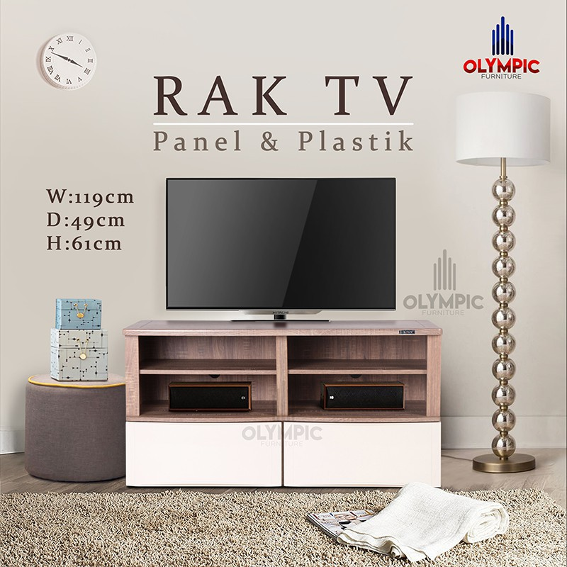 Display cabinet 5 susun olympic   Shopee Indonesia -. Source · Olympic Kitchen Set Atas