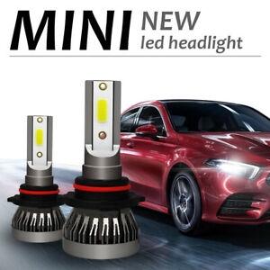 1x H1 650W 97500LM COB LED Headlight Conversion Lamp Hi Lo Beam 6000K White Bulb