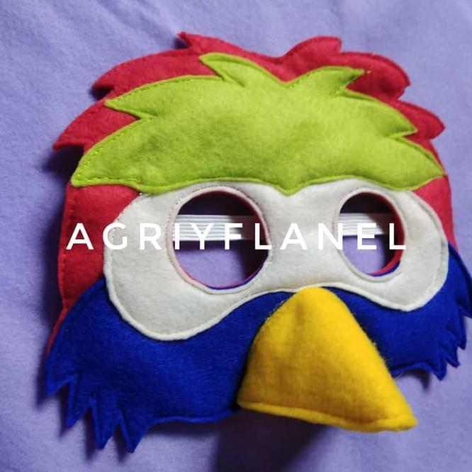 Topeng Muka Burung