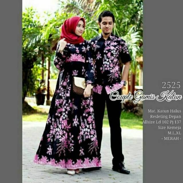 gamis couple - Temukan Harga dan Penawaran Batik   Kebaya Online Terbaik -  Pakaian Wanita Februari 2019  90c28ab06f