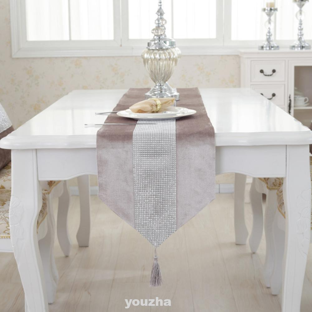 Home Decor Accessories Kitchen Modern Indoor Outdoor Table Runner Shopee Indonesia