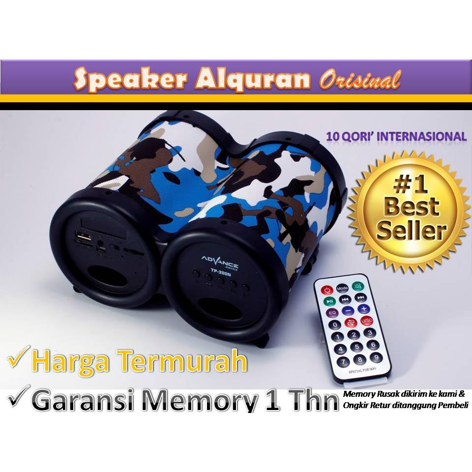 Speaker Al Quran Kids Anak Advance Tp 600 200bt Voice V71 Shopee Indonesia