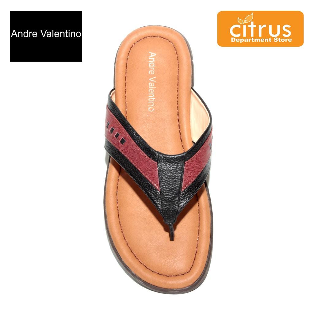 5dad56e9f679a Andre Valentino Sandal Pria 63002 Warna Coklat | Shopee Indonesia
