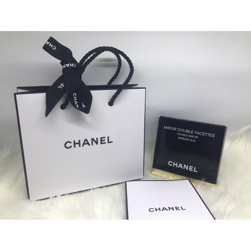 Compact Mirror Chanel Miroir Double Facettes Mirror Duo Shopee Indonesia