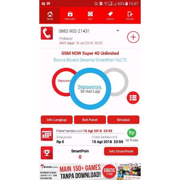 Kartu Perdana Smartfren Unlimited Registrasi Tanpa Kk Ktp Bisa Untuk Semua Hp 4g Shopee Indonesia