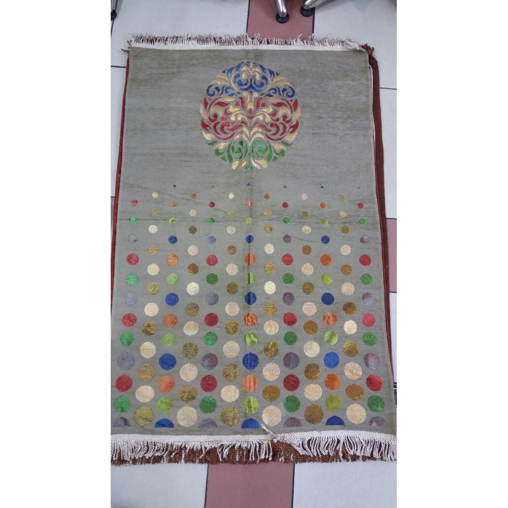 Grosir Souvenir Sajadah Murah 34tambang Polkadot Line34 Kepala Rayon 3560  Ter Shopee Indonesia