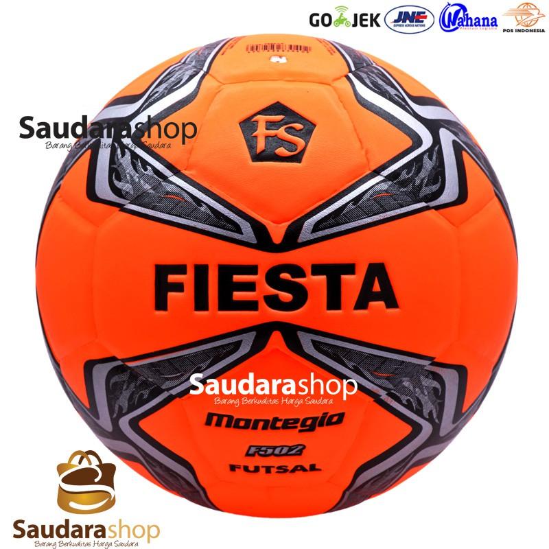 76ea613b0d Special Promo Bola Futsal Press Fiesta F502 Montegio Orange   Bola Fiesta  Original Free Ongkir