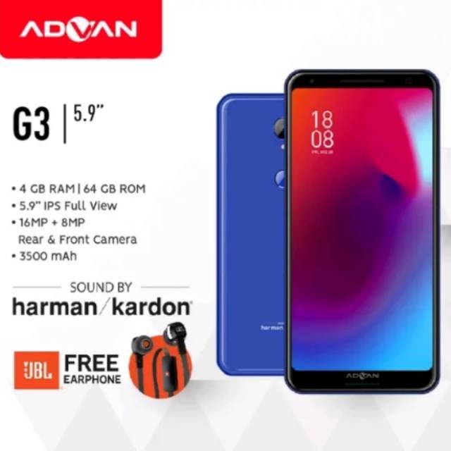 Advan G3 Ram 4gb Garansi Resmi