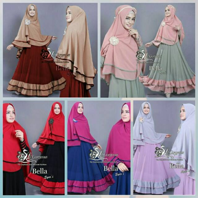 TERMURAH! Ethica Kagumi Gamis Dewasa Kagumi Ethica Long Dress Pesta Dress Muslim | Shopee Indonesia