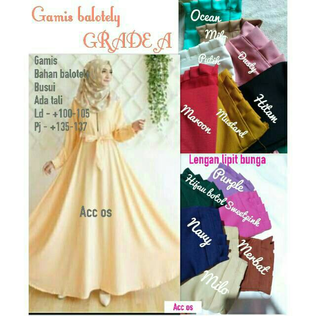 Jual Produk Fashion Muslim Online Shopee Indonesia