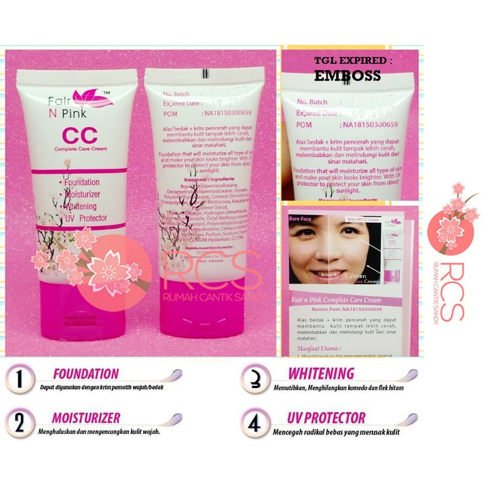 Fair N Pink Cc Cream Amankah Untuk Kulit Berjerawat