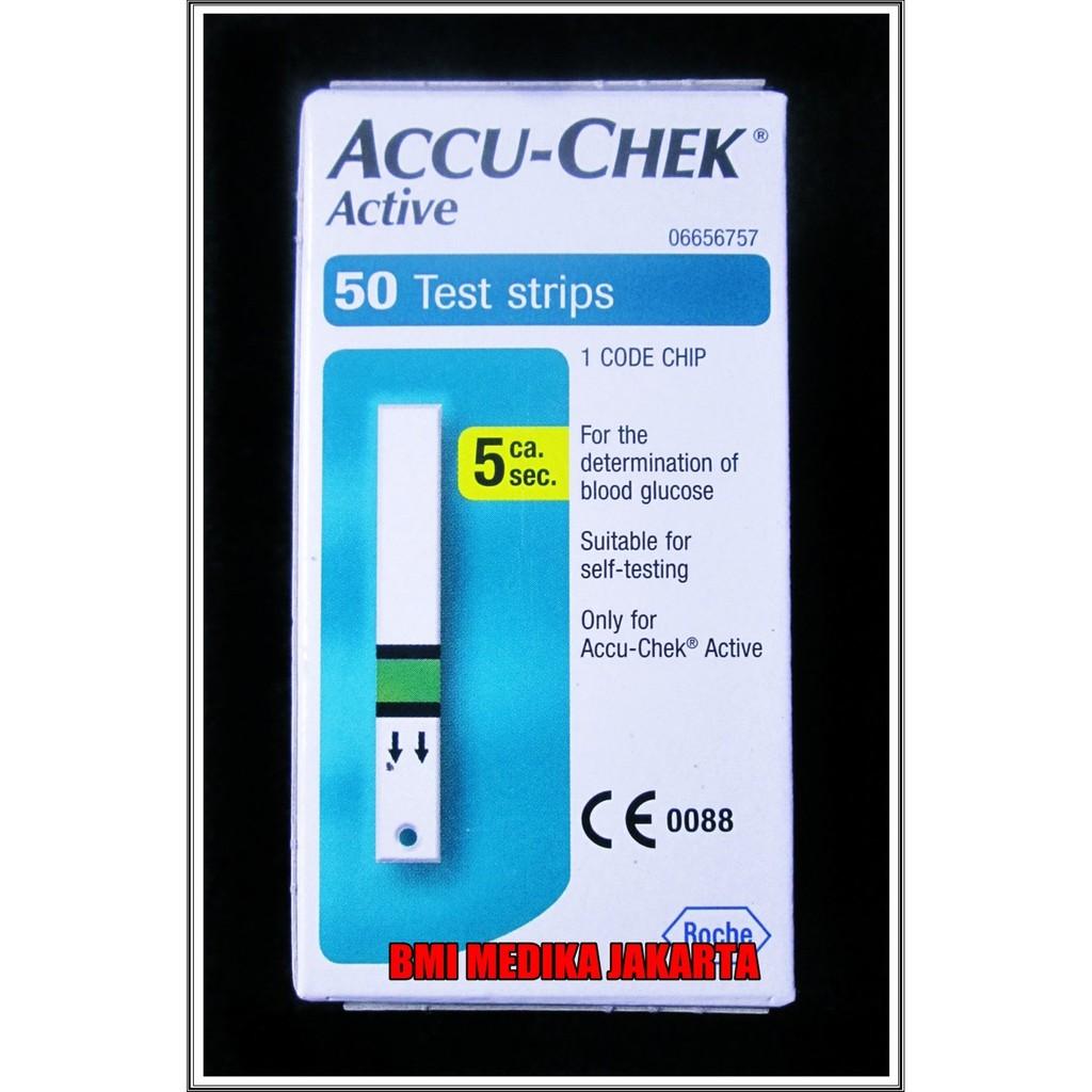 Jual Accu Chek Aktif Alat Cek Gula Darah Murah Shopee Indonesia Check Active Monitor Bebas Nyeri Roche Glucose