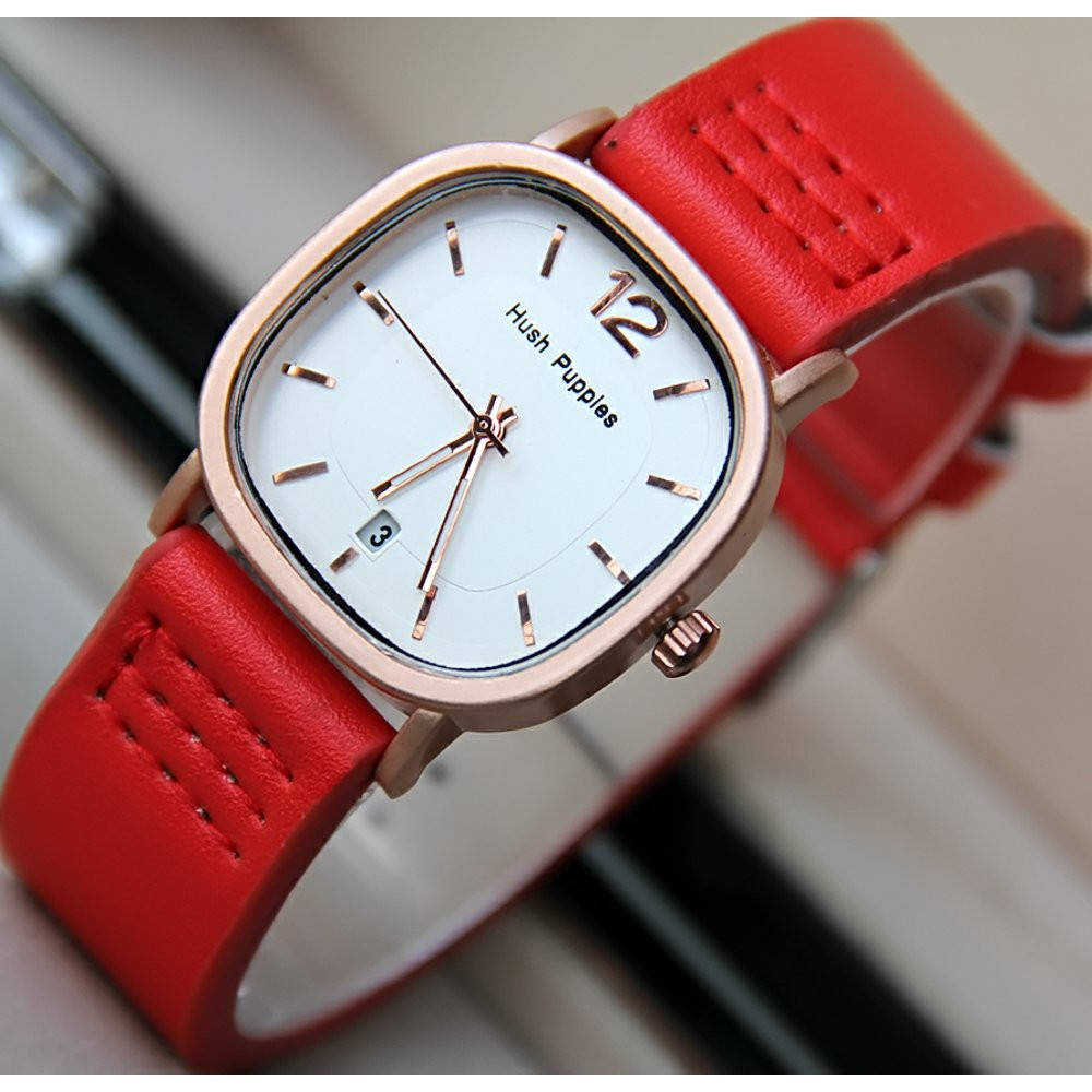 Laris Fossil Gwynn Red Es4116 Berkualitas Shopee Indonesia Jam Tangan Wanita Original Chrono Wine Leather
