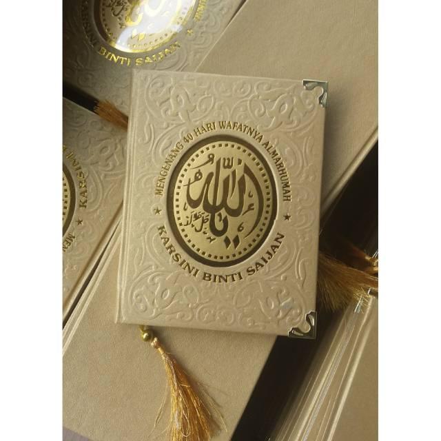 Cetak Buku Yasin Murah Percetakan Sindu Printing