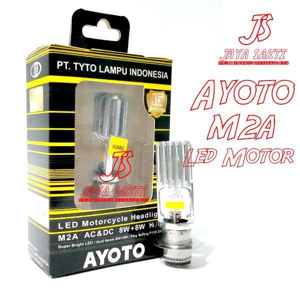 Lampu Motor / Led Ayoto Kuning M2A H6 - Putih