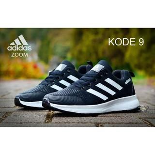 VD  Sepatu Adidas Zoom Wanita Sepatu Olahraga Cewek Sneakers Lari Running  Jogging Senam 2cd09101c9