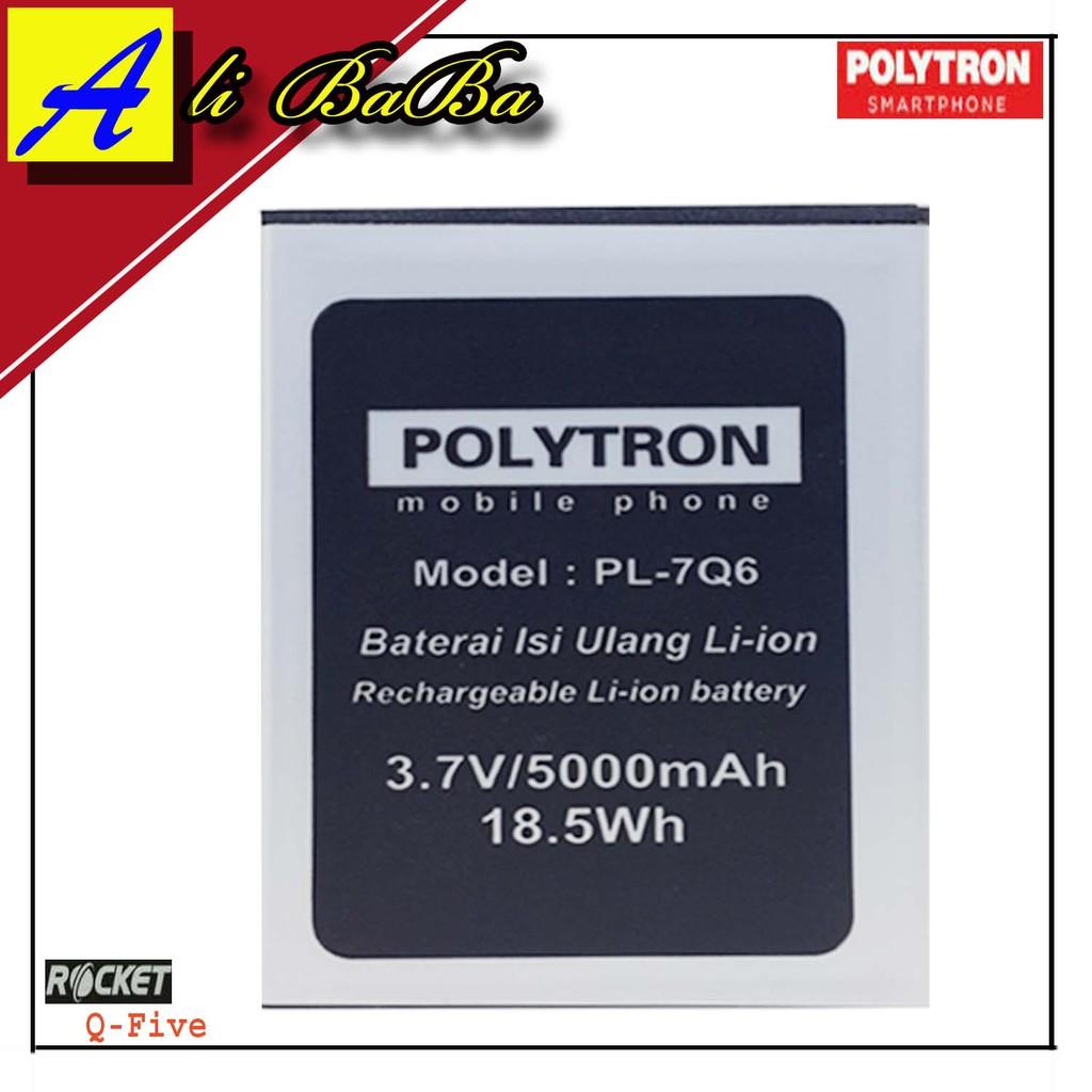 Baterai Handphone Polytron Rocket R3 R2407 PL-6M4C PL-604 DOuble Power Polytron Batre HP Polytron | Shopee Indonesia