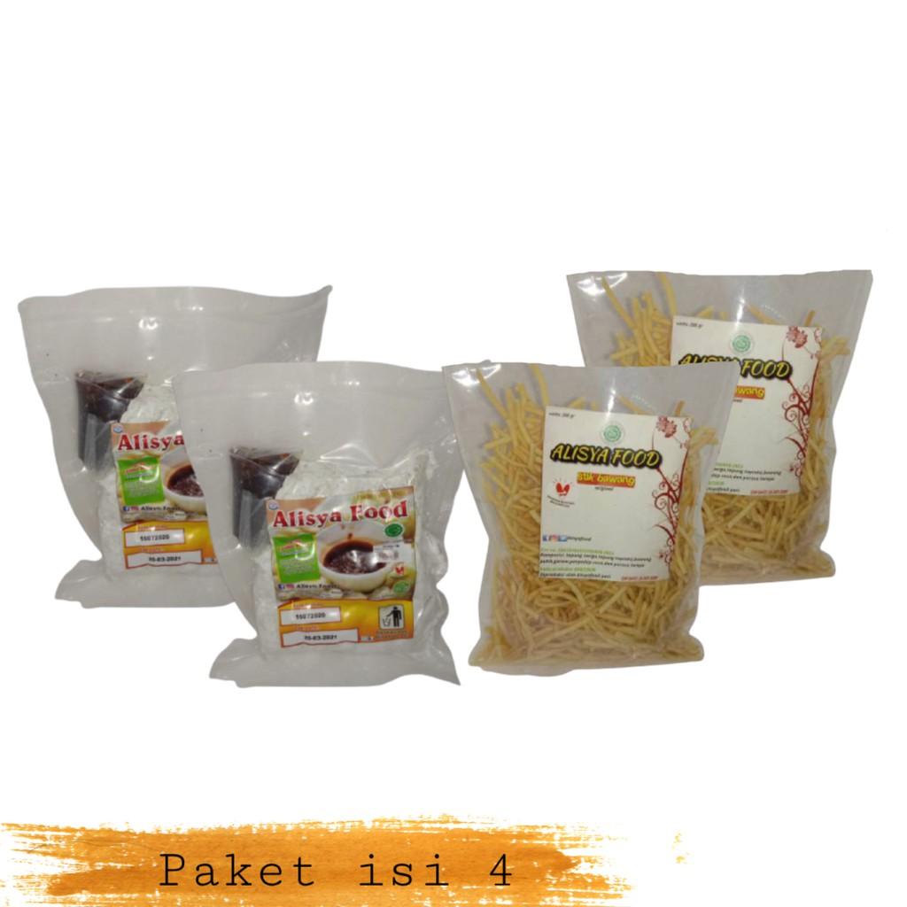 Alisya Food – Cireng bumbu rujak Stik Bawang (paket 2)