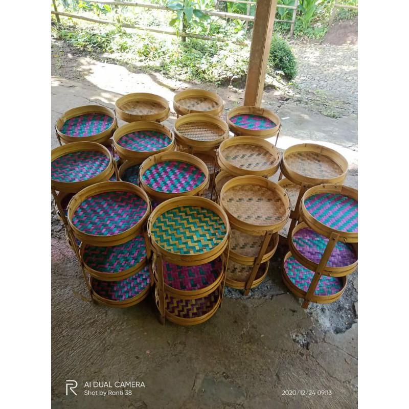 Tempat Bumbu Tempat Bawang Anyaman Bambu Murah