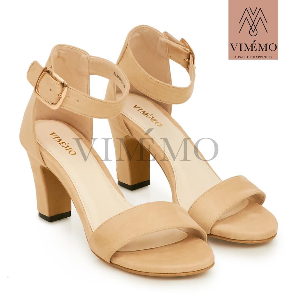 Aldera Cream By Vimmo Official Store Shopee Indonesia Amazara Kendall Black Heels Hitam 39