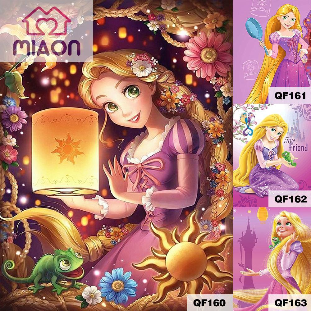 Rapunzel Kartun Batik Kain