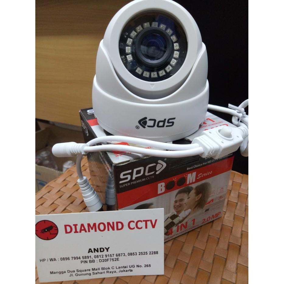Cctv Outdoor 2mp Full Hd 1080 Kamera Spc Hybrid Analog Ahd Hdcvi Camera 2 Mp Indoor 1080p 4 In 1 Hdtvi Shopee Indonesia
