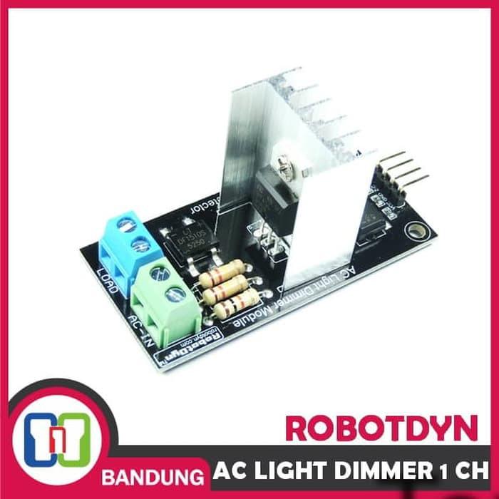 ROBOTDYN AC LIGHT DIMMER 1 CHANNEL 3 3V 5V 220V 110V MODULE