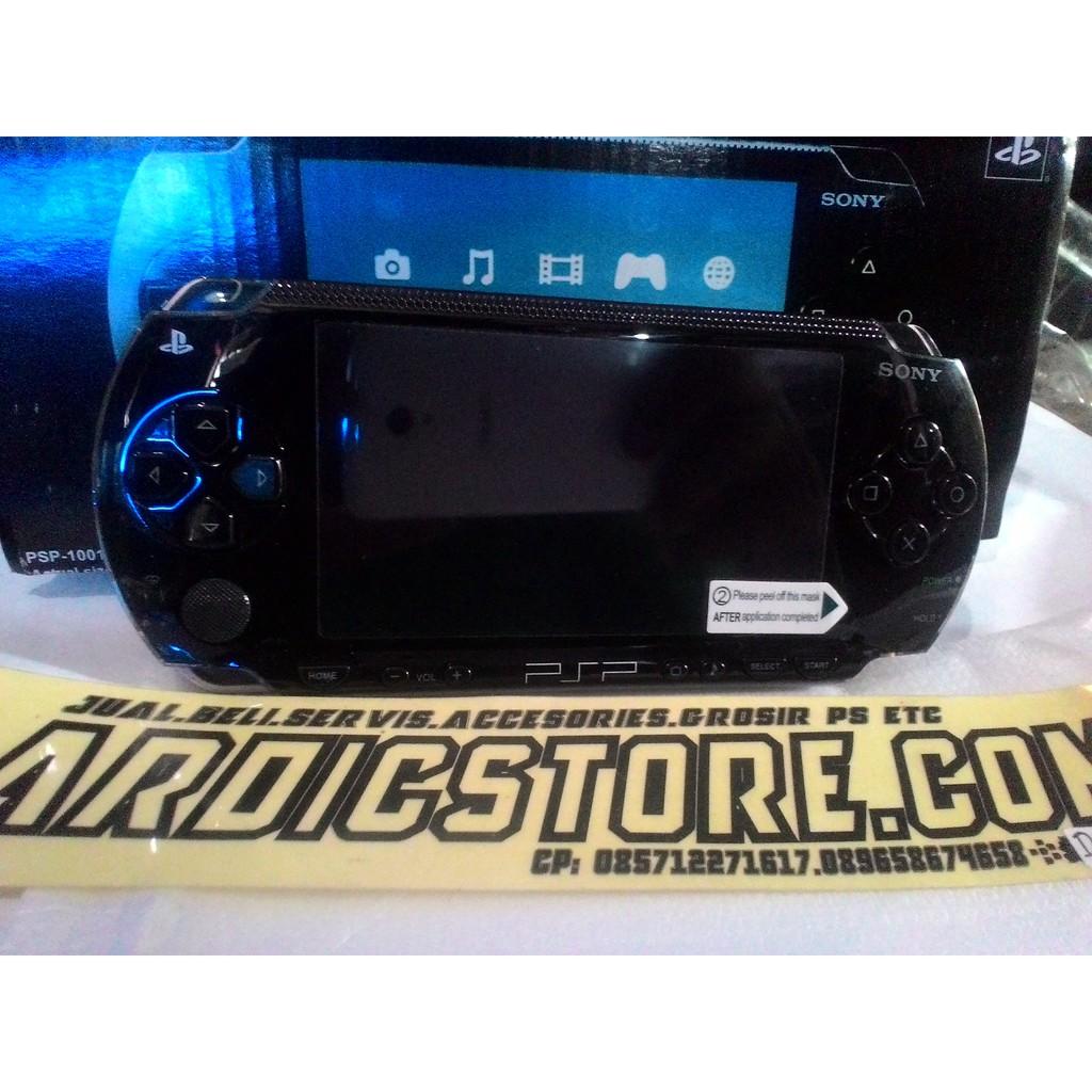 Psp Sony Fat Seri 1000 Memory16gb Antigores Shopee Indonesia Ps Vita Biru Memory 16gb Full Game