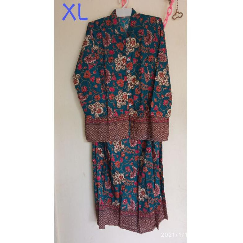 [ART. 556389] Setelan batik / baju nenek