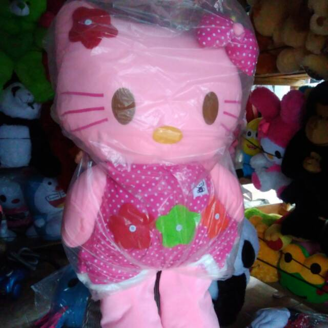 Boneka hello kitty   helo kity super jumbo   besar   big   gede ... 57e72c9bbf