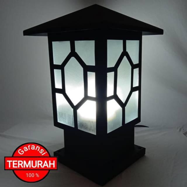 Paling Baru Lampu Hias Pilar Pagar Minimalis Pl07 Termurah | Shopee  Indonesia