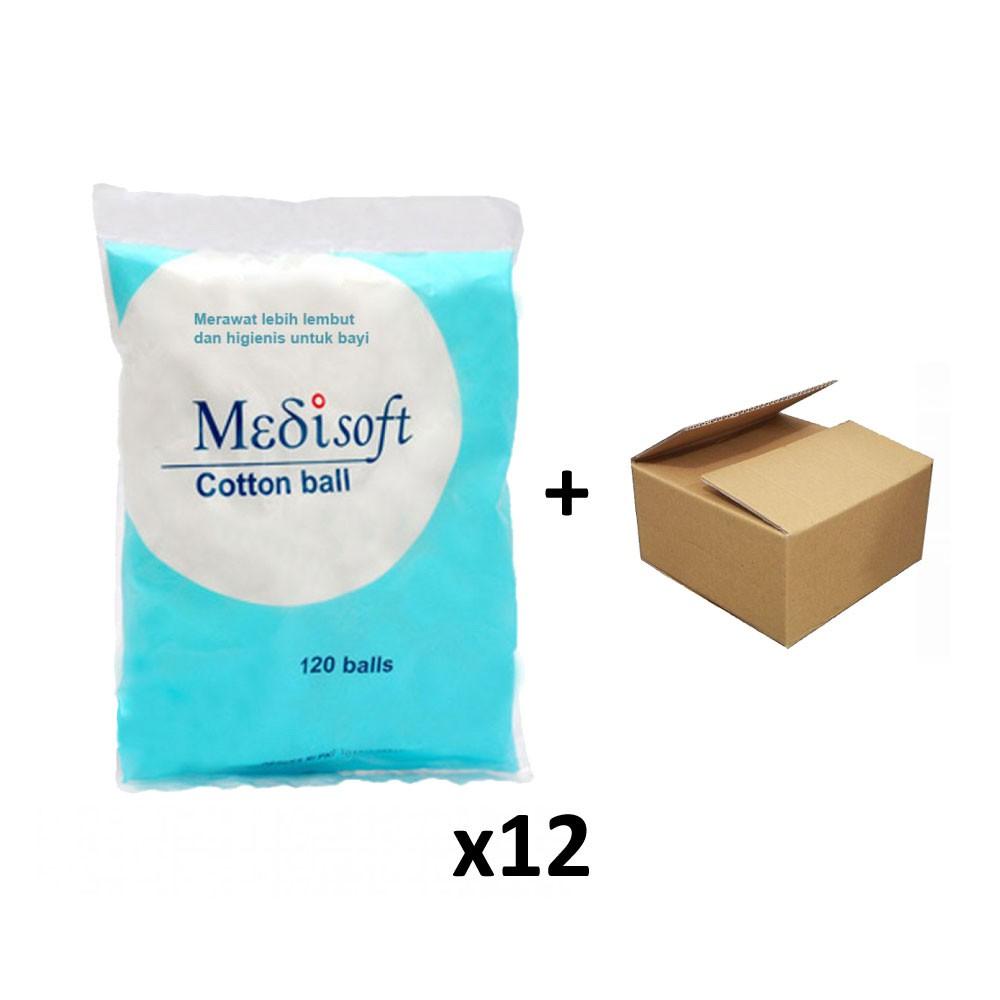Cotton Ball Kapas Bulat Wajah Bayi Round Paket Isi 3 Selection Facial 50 Gram Perpack Bola Shopee Indonesia