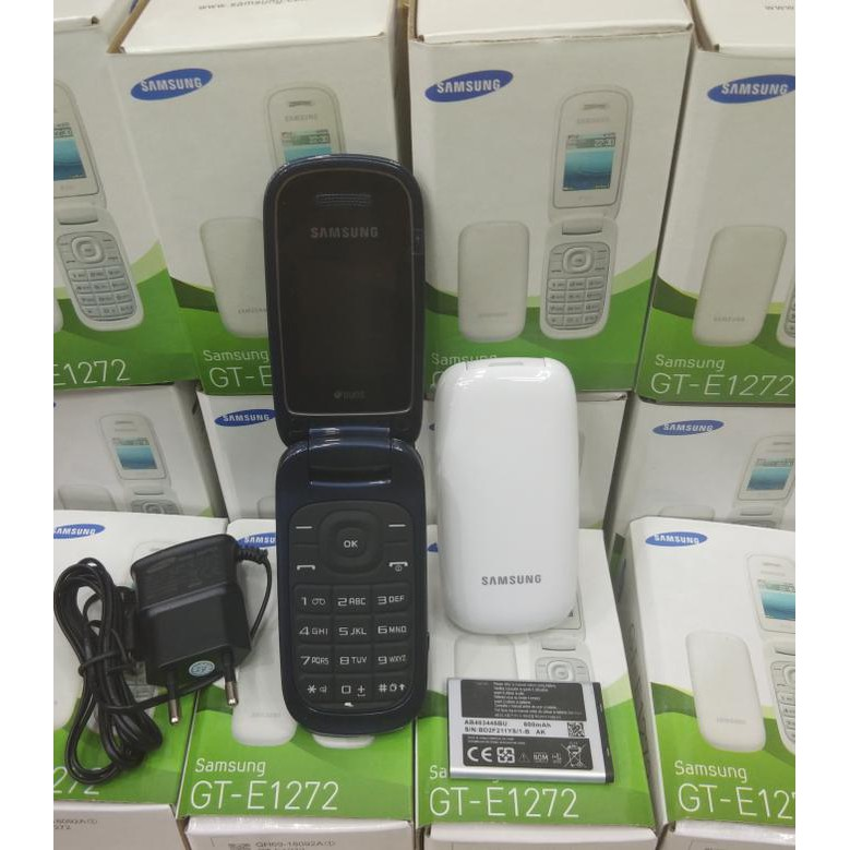 Handphone Samsung Caramel Gt-E1272 / Samsung Lipat Dual Sim - ( Hitam, Putih ) - Hitam | Shopee Indonesia