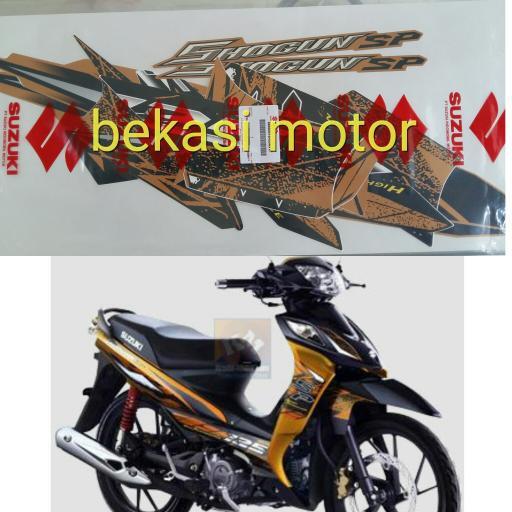 striping stiker shogun SP robot RR FL original Aksesoris Motor | Shopee Indonesia